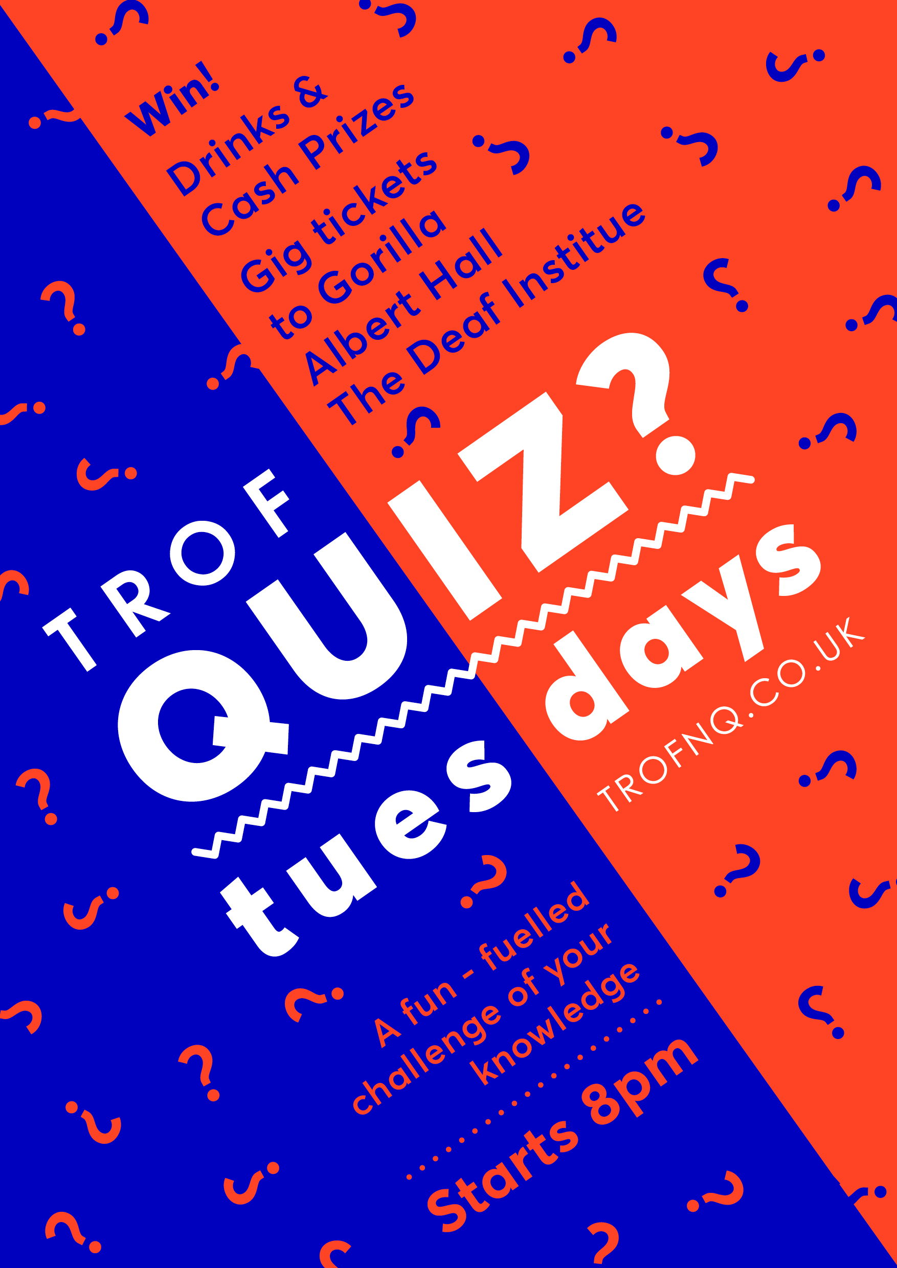 poster for Quiz Tuesdays