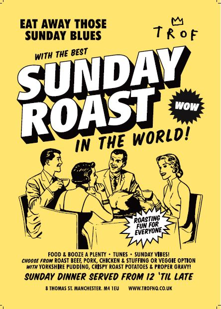 poster for Sunday Roasts