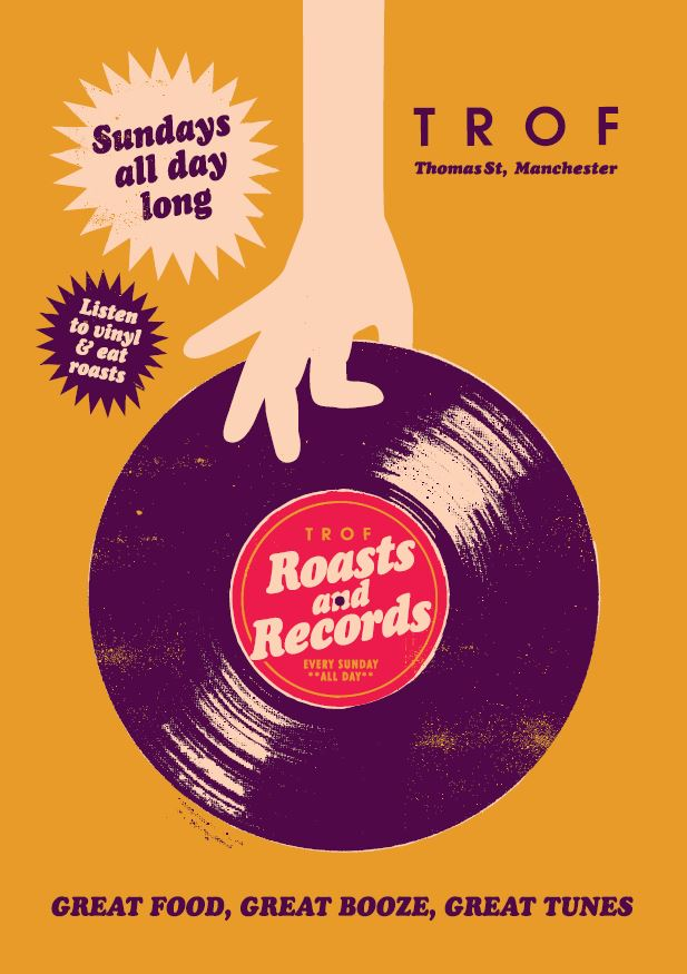 poster for TROF TURNS TEN: ROASTS AND RECORDS + EUPHONY TAKEOVER
