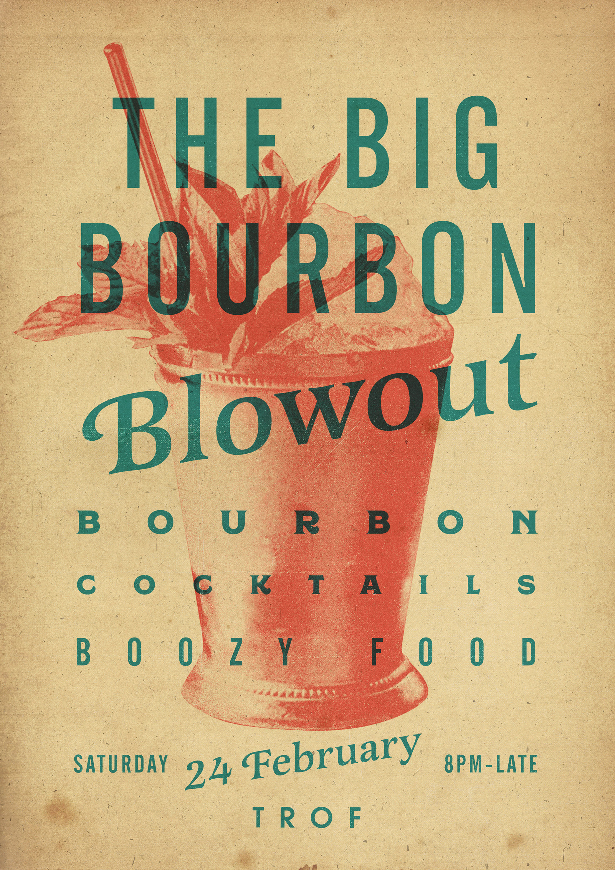poster for The Big Bourbon Blowout