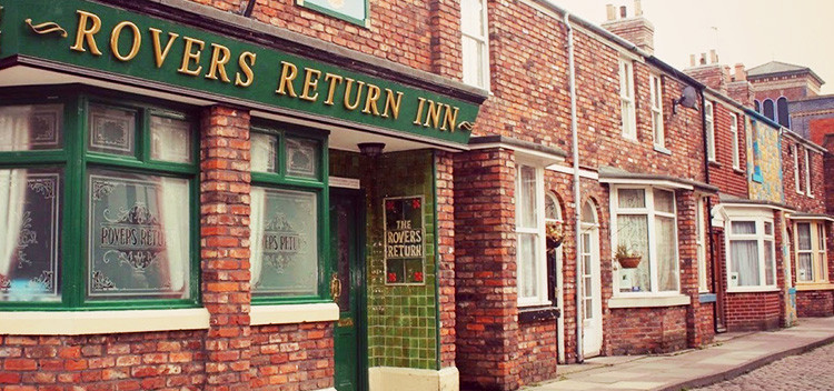 poster for CORONATION STREET PARTY