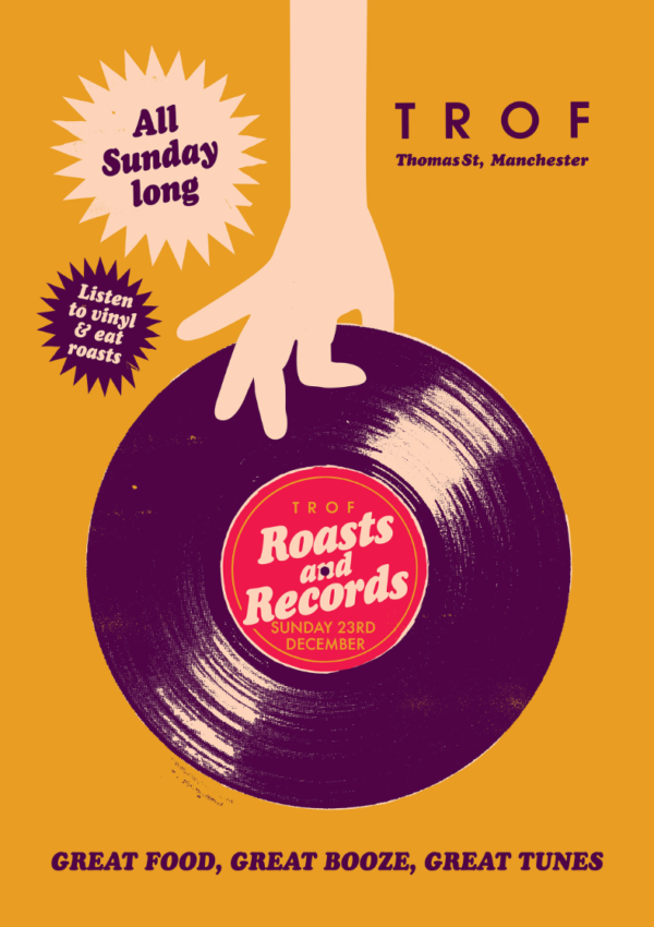 poster for ROASTS AND RECORDS: CHRISTMAS EDITION