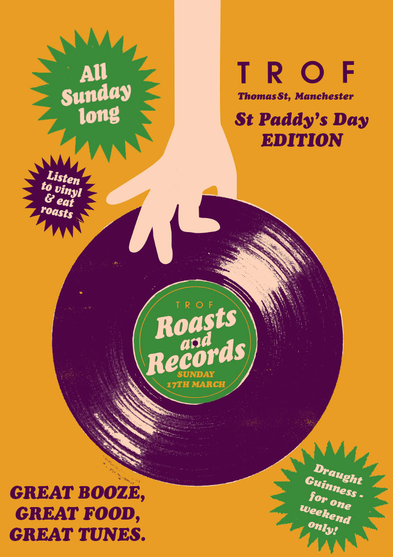 poster for ST PADDY'S DAY AT TROF