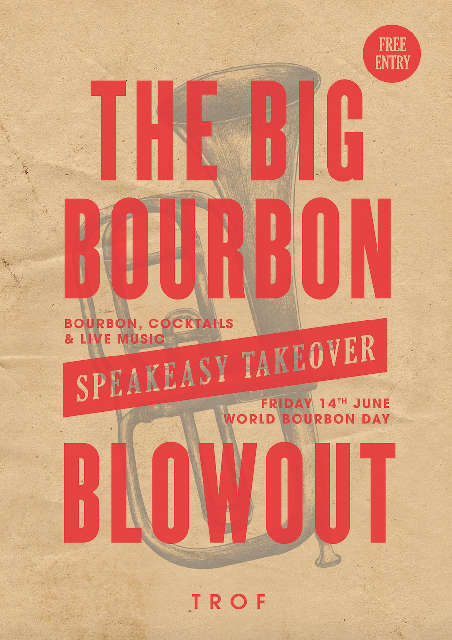 poster for WORLD BOURBON DAY 2019