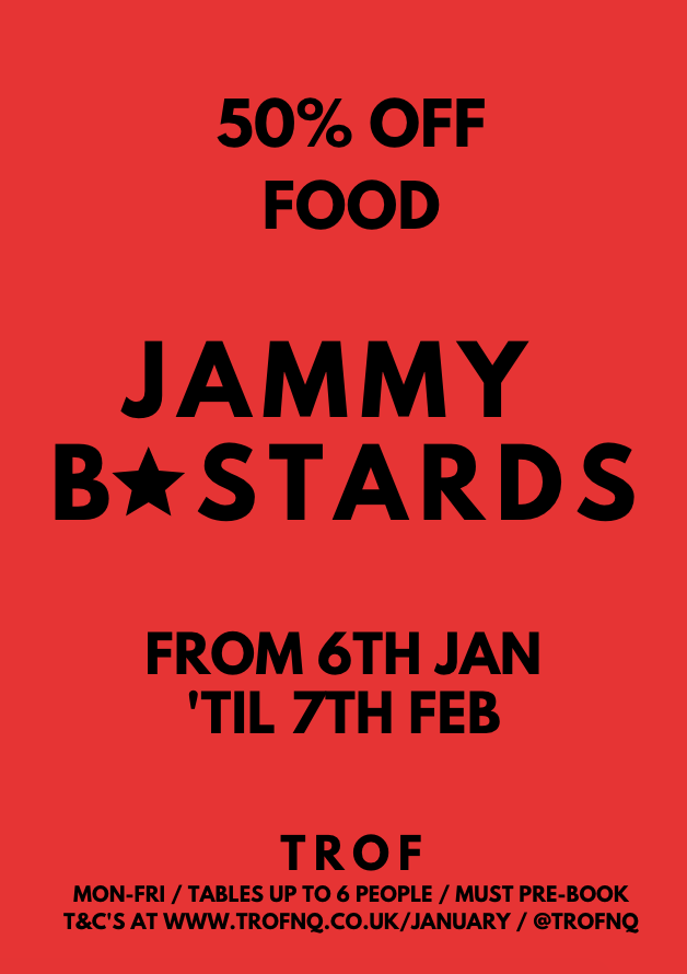 poster for Jammy B*stards - January